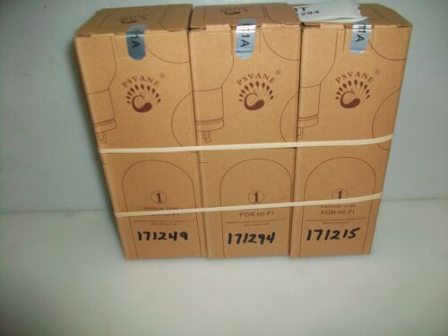 NEW MATCHED TRIO PSVANE 811A TUBES  (RF TESTED AND MATCHED BY K5SVC)