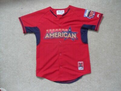 American League 2014 All Star Game Replica HR Derby Jersey Youth Medium -