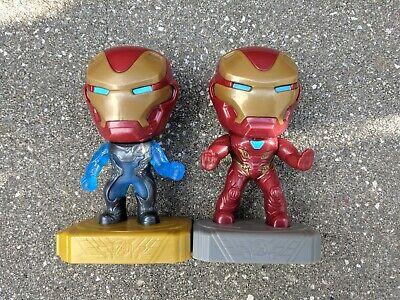 Avengers 2 Iron Man Suit (Iron Man #2 & Team Suit #14 Avengers Endgame Happy Meal Toy 2019 Marvel)