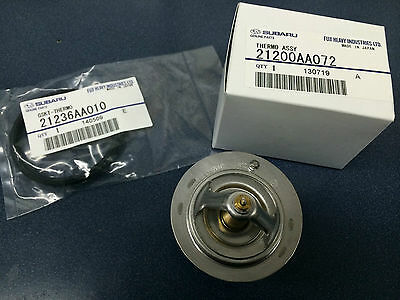 Subaru Thermostat & Gasket Kit Legacy Forester Outback Impreza OEM 21200AA072