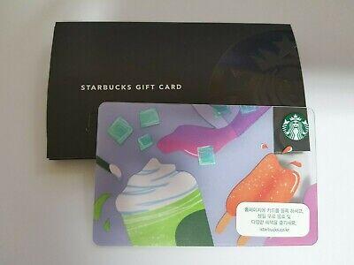 Korea 2019 Palm Leaf summer gift card STARBUCKS