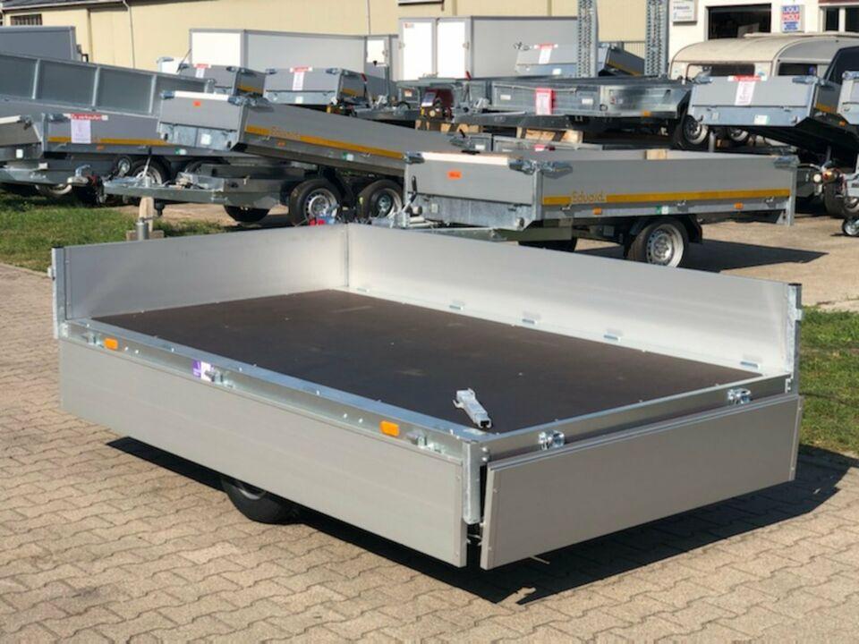 ⭐️ Anhänger Eduard Pritsche 1350 kg 250x145x30 cm Alu NEU 56 in Schöneiche bei Berlin
