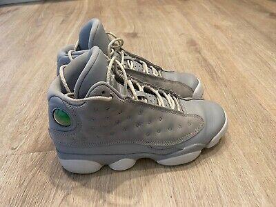 Nike Air Jordan Retro 13 GG Wolf Grey 439358-018 Size 4.5Y Women's Size 6