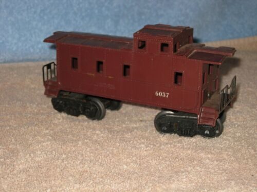 Lionel Brown Caboose #6037 - O scale