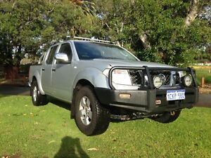 2007 NISSAN NAVARA ST-X AUTOMATIC 4X4 UTE $6990 with 1 YEAR WARRANTY Leederville Vincent Area Preview