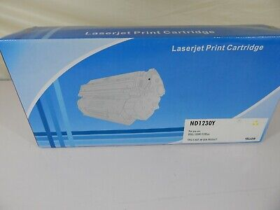 Laser Print Cartridge For Use On Dell 1230C/1235CN Yellow Not OEM -