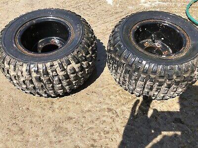 Honda Atc70 Rear Wheels And Tyres