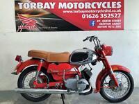 YAMAHA YA6 RED 125CC 2 STROKE CLASSIC MOTORCYCLE 1965 PROJECT