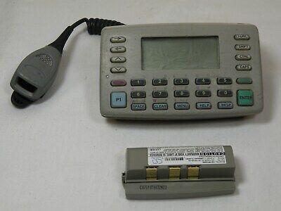 Symbol Wss1060-p486s1ww Wireless Wearable Barcode Laser Scanner Wnew Battery