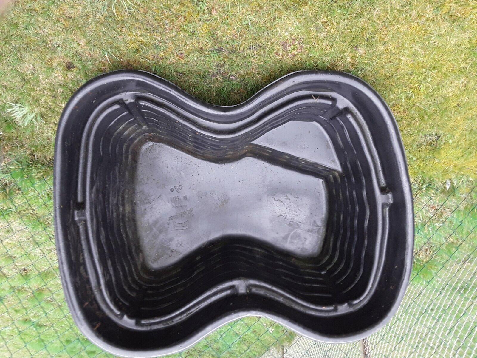 Gartenteich-Komplettset , Becken 500 l , Druckfilter , Anschlussleitungen