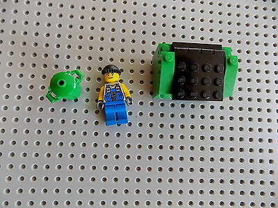 Custom Lego Garbage Minifigure Dumpster Recycling Bins Trash Cans City/Town