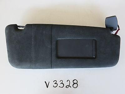04-10 BMW M5 RIGHT PASSENGER SIDE INTERIOR SUN VISOR SUNVISOR BLACK MIRROR V3328