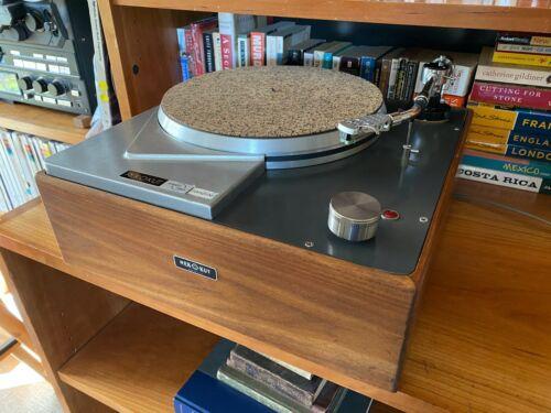 Vintage REK O KUT N-33H Turntable Audio Technica AT-1005II Tonearm, Complete!