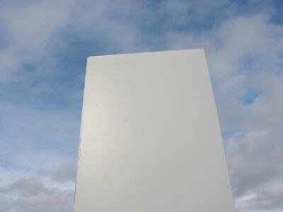 18 White Color 7328 Acrylic Sheet 12 X 24 - Free Cut To Your Size