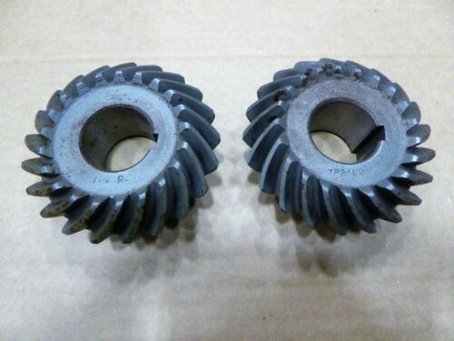 Arrow Spiral Bevel Gear 7P21L21 Pinion 7P21R21 Gear Set 1:1 Ratio