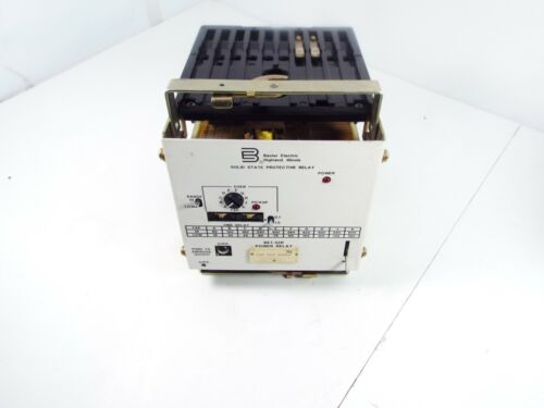 BASLER ELECTRIC BE1-32R POWER RELAY C2E E10 A0N1F SOLID STATE