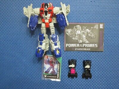 Transformers Generations Starscream Power of the Primes Voyager Class Hasbro