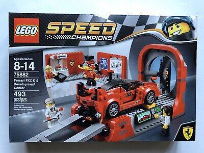 LEGO 75882 Speed Champions Ferrari FXX K & Development Center F40 - New Sealed