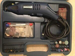 "MASTERCRAFT ""54-4703-6"" Rotary Tool Kit"