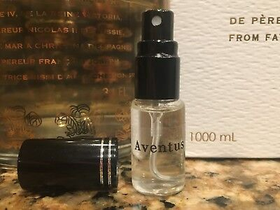 Creed Aventus Men Cologne 100% Authentic EDP 5ml sample Spray Bottle Fast Ship