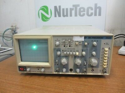 Bk Precision 2522 20 Mhz Digital Storage Oscilloscope Laboratory Dual Channel