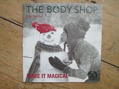THE BODY SHOP CHRISTMAS 2005 LITERATURE / BROCHURE ()