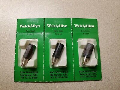 Welch Allyn Light Replacement No. 07800. Lot Of 3