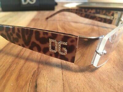 orig .Dolce & Gabbana Brille Leo Leopard Brillengestell Brillenfassung