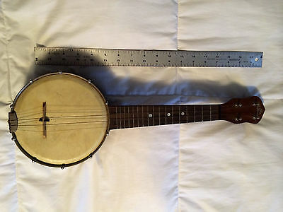 """""""The Gibson"""", Banjolele, Banjo, Vintage, Original Canvas Board Case, Paul Hunt"""