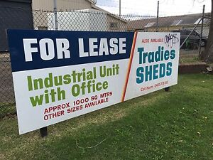 Industrial Units and Tradies Sheds Mayfield East Newcastle Area Preview