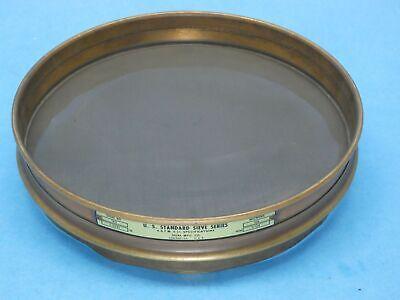 Dual 140 Astm Standard Test Sieve 8 Brass Framess Mesh Half Height