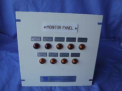 Tel 8se Ebara Pump Monitor Panel Rs02482s495146-10