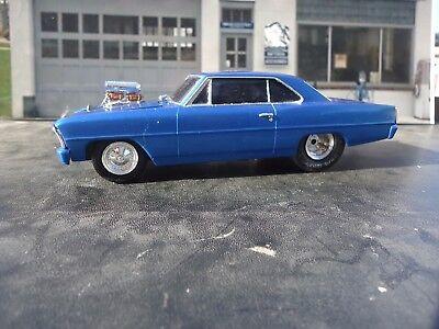 AMT 1/25 1966 Chevy II (Nova) Pro Street Chassis