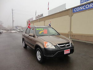 2004 Honda CR-V EX SUV, Crossover E-TESTED & CERT