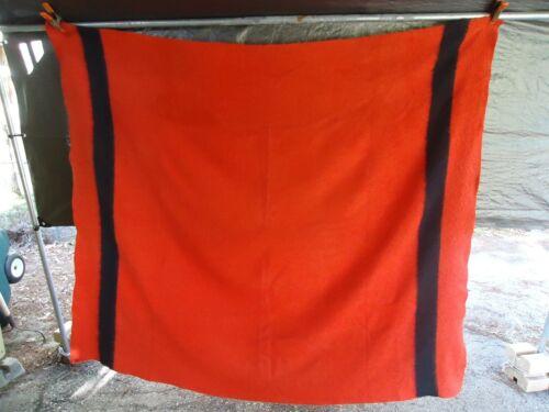Hudson's Bay Blanket Red & Black  Wool