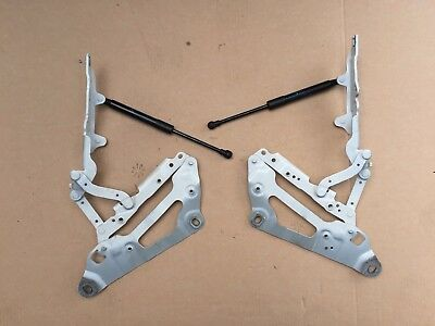 BMW F07 GT FRONT BONNET HOOD HINGES and SHOCKS 7046323 7046324 PAIR