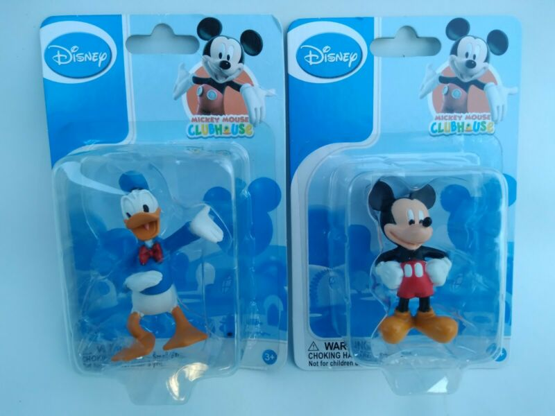 (NEW) Disney Mickey Mouse Clubhouse Figurines Mickey Mouse And Donald Duck toys