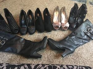 Boots and heels