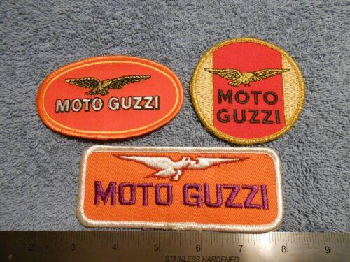 MOTO GUZZI  PATCHES    NOS   3-3
