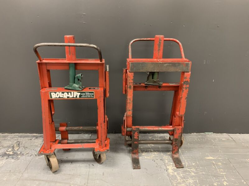 Rol-A-Lift M-4 Heavy Duty Moving Dollies - 4,000lb Capacity per Pair