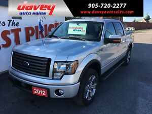 2012 Ford F-150 FX4 FX4 PKG, ECO BOOST,