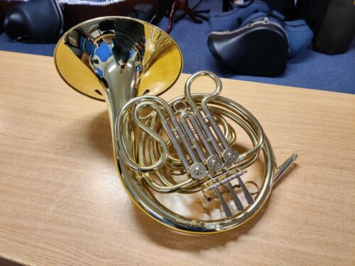Besson BE602 Single French Horn in F (used instrument, fully serviced)