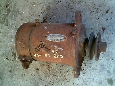 Farmall Cub Lo Boy Tractor 6v Generator Belt Drive Pulley Ihc Ih