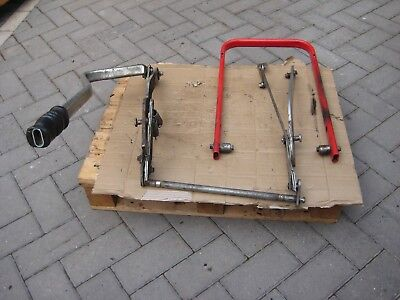 COUNTAX RIDER RIDE ON MOWER / GARDEN TRACTOR REAR SWEEPER LIFTING GEAR.