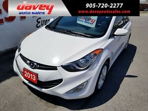 2013 Hyundai Elantra GLS 2 DOOR COUPE, POWER SUNROOF, HEATED...