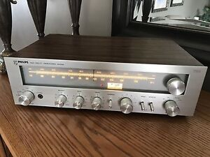 Serviced 1978 Philips High Fidelity Laboratories Receiver AH784