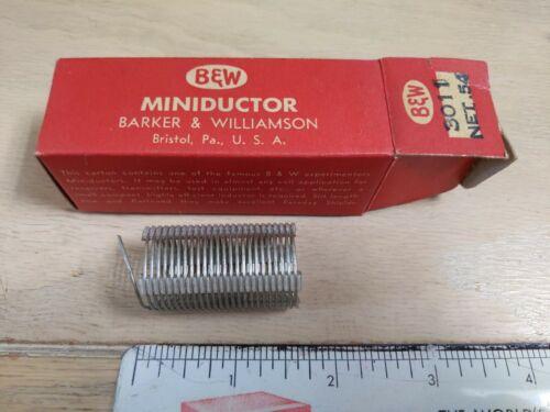 B W Miniductor 3011 Net .54 - $3.00