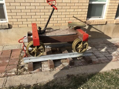 Antique Mining Ore Cart - Gold - Car,  rail car