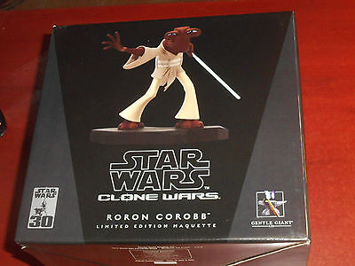 Roron Corobb Star Wars Gentle Giant Statue Maquette BRAND NEW Sealed /2500 NEW