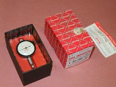Starrett Dial Indicator 81-145 .125 Range .001 Rebranded New In Box